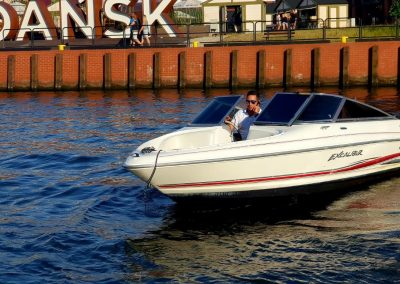 łódź sportowa gdańsk